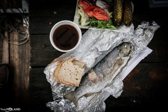 taste poland turystyka kulinarna ojców pstrąg produkt regionalny