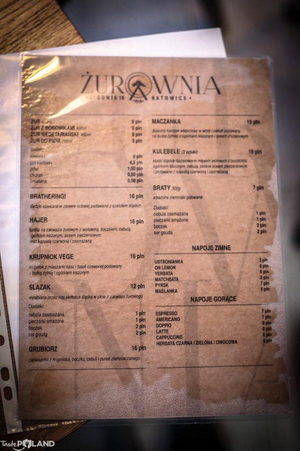 zurownia katowice zur menu